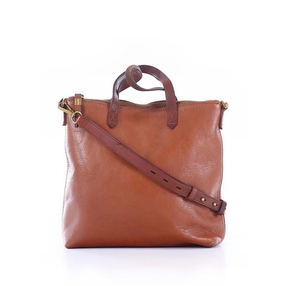 8d88f3745 Madewell Bags   Zip Top Transport Leather Crossbody Bag   Poshmark